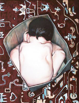 Little Buddha - Oil Painting