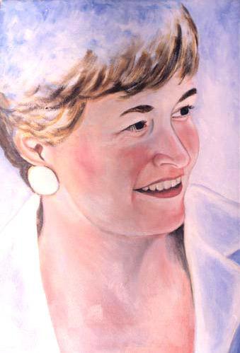 Diana - Oil Portrait