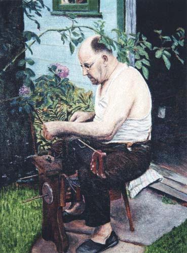 Tata - Oil Painting
