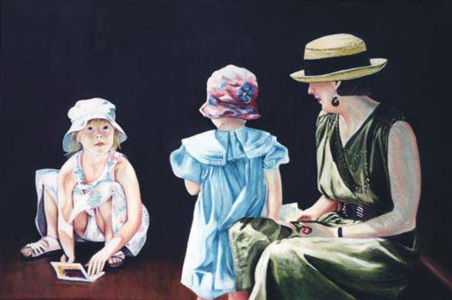 The Invitation - Oil Painting